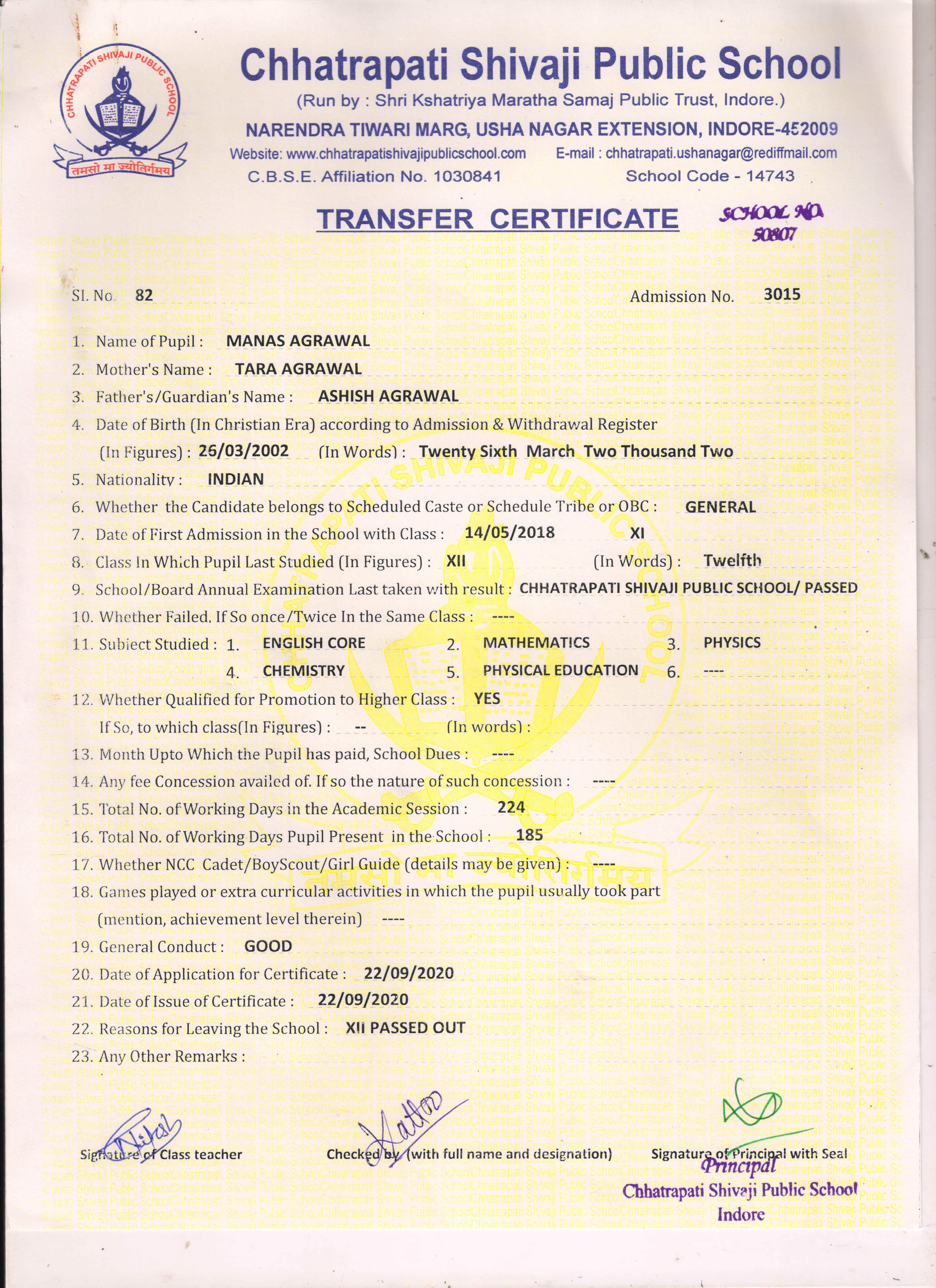 Manas Agrawal (TC)